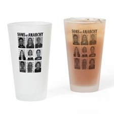 SOA Mugshots Drinking Glass