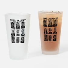 SOA Mugshots Drinking Glass