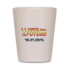 BTTF Future Shot Glass