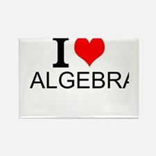 I Love Algebra Magnets