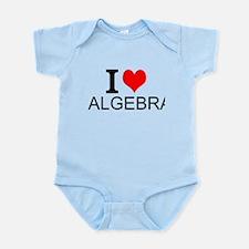 I Love Algebra Body Suit