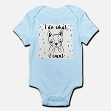 Boston Terrier I Do What I Want Body Suit