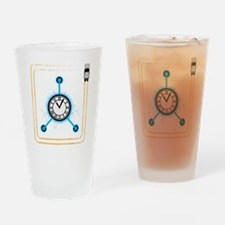 bttf flux Drinking Glass