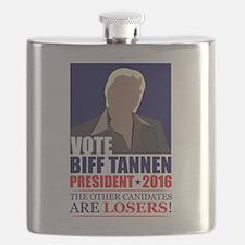 BTTF Vote Biff Flask