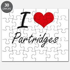 I Love Partridges Puzzle