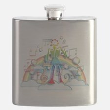 Cute Conductor Flask