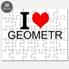 I Love Geometry Puzzle