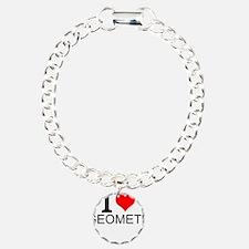 I Love Geometry Bracelet