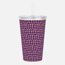 Funny Funny chocolate Acrylic Double-wall Tumbler