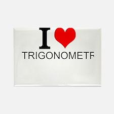 I Love Trigonometry Magnets