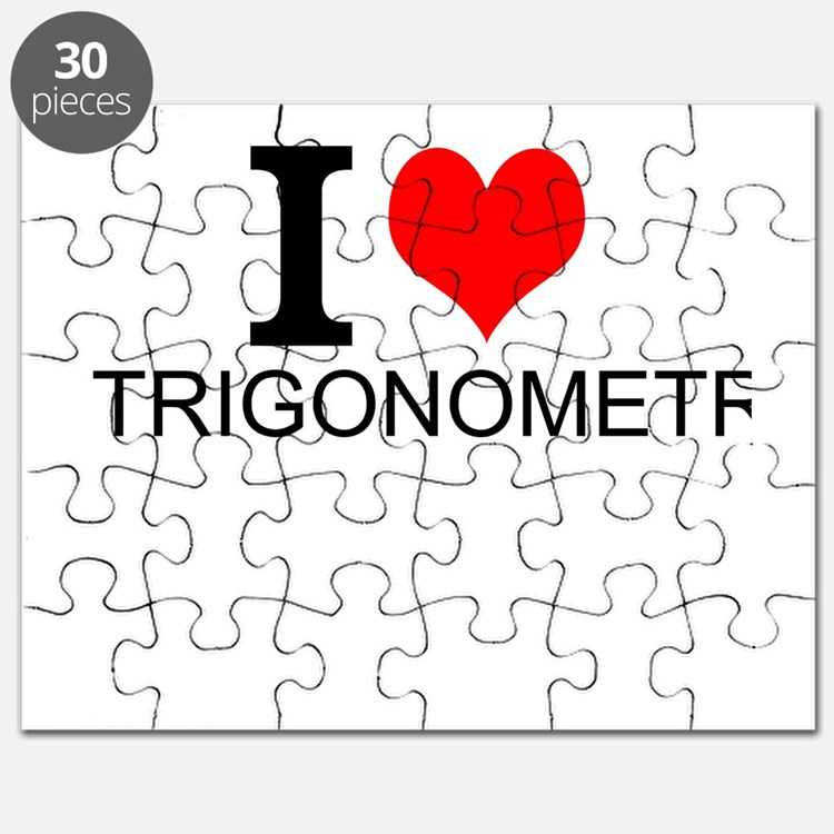 I Love Trigonometry Puzzle