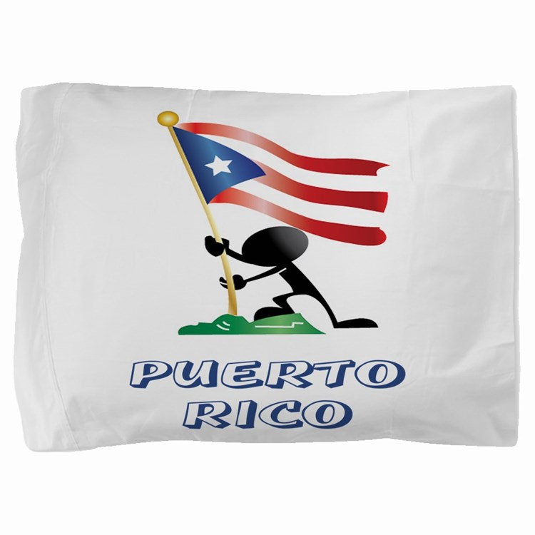 puertorico MAN 0.png Pillow Sham
