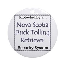 Toller Security Ornament (Round)