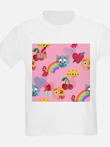 pink girl emoji T-Shirt