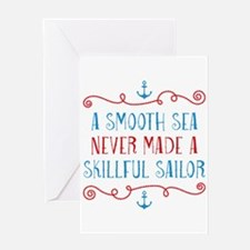 Skillful Sailor Greeting Card