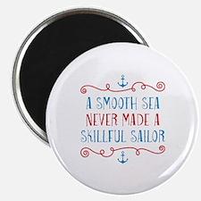Skillful Sailor Magnet