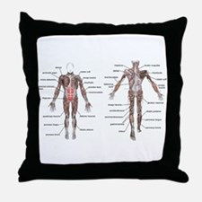 Unique Doctor physical therapy mens Throw Pillow
