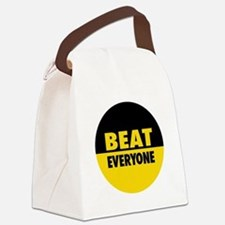 Beat Everyone 4 Canvas Lunch Bag