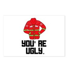 You're Ugly Postcards (Package of 8)