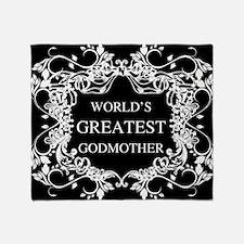 World's Greatest Godmother Throw Blanket
