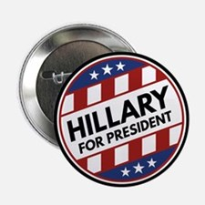 """Hillary For President 2.25"""" Button (10 pack)"""