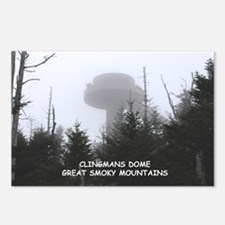 Clingman's Dome In The Postcards (package Of 8