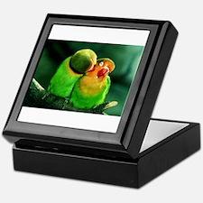 Unique Birds Keepsake Box