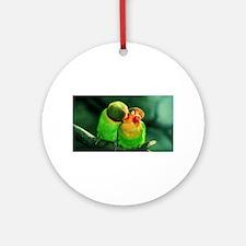 Cute Birds Round Ornament