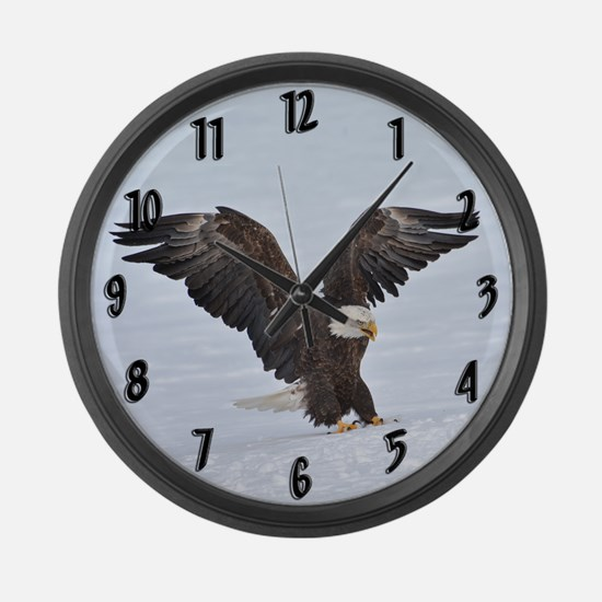 The Eagle Has Landed Large Wall Clock