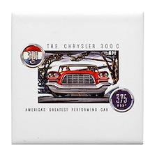 Chrysler 300C Tile Coaster