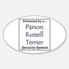 Parson Security Oval Decal