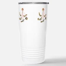 Unique Rose flower Travel Mug