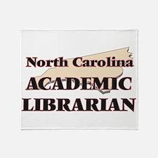North Carolina Academic Librarian Throw Blanket