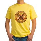 Funny iowa Mens Yellow T-shirts