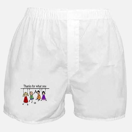 Cute Cart Boxer Shorts