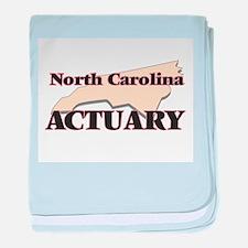 North Carolina Actuary baby blanket