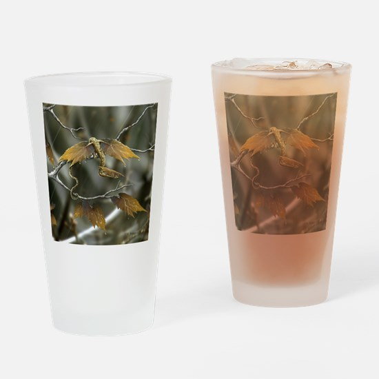 maple leaf dragon Drinking Glass