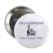 I'm A Grandma Button