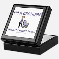 I'm A Grandma Keepsake Box