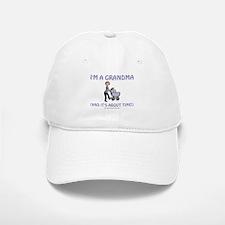 I'm A Grandma Baseball Baseball Cap
