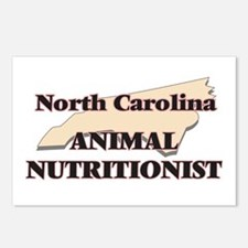 North Carolina Animal Nut Postcards (Package of 8)