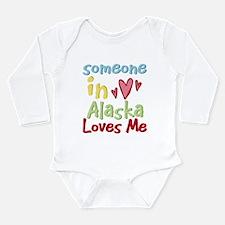 Unique Alaska Long Sleeve Infant Bodysuit