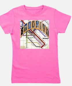 brookly logo Girl's Tee