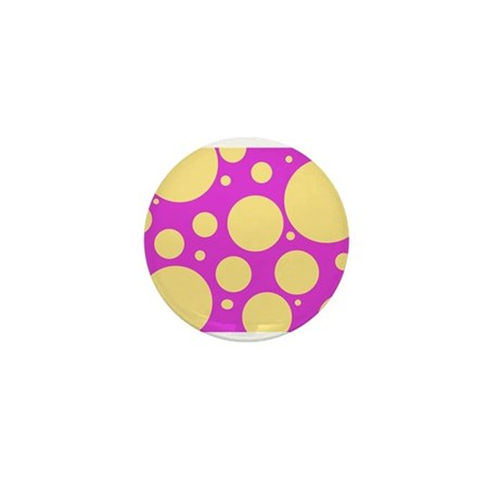 Polka Dot Mini Button