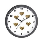 Chocolate Chip Love Wall Clock