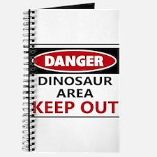 DANGER DINOSAUR AREA Journal