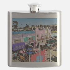 Pastel Row Flask