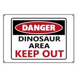 Funny dinosaur Banners
