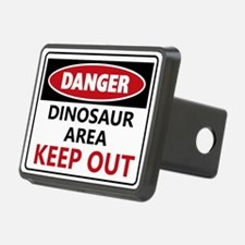 DANGER DINOSAUR AREA Hitch Cover