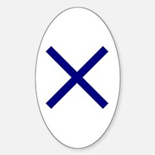 Cute St andrew%27s cross Decal
